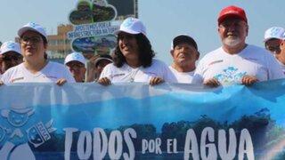 """Ministro Carlos Bruce participó en la caminata """"Todos por el Agua"""""""