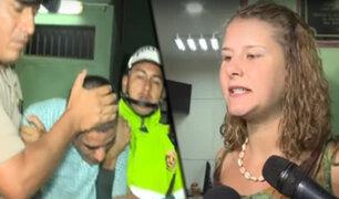 Efectivos policiales capturaron a delincuente que asaltó a turistas