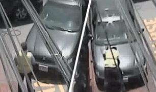 San Miguel: conductor atropella a inspector de tránsito