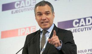 """Del Solar: """"Tenemos muy claro que hay que respaldar el acuerdo con Odebrecht"""""""