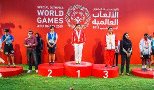 Perú ganó medalla de oro y bronce en Olimpiadas Especiales 2019