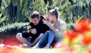 Justin Bieber y Hailey Baldwin fotografiados discutiendo en un parque [FOTOS]