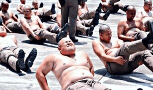 Policías con sobrepeso son obligados a hacer dietas y ejercicios