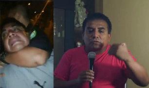 Huaral: periodista denuncia abuso de autoridad al ser intervenido por policías
