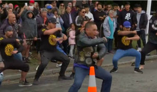 Nueva Zelanda: realizan 'hakas' en honor a víctimas de atentado terrorista