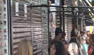 Comercio invade las calles del centro de Lima