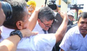 Fiscal José Domingo Pérez lamentó ataques a su salida del penal de Chorrillos