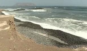 Costa Verde: desmonte y escombros abandonados en playas