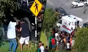 Los Olivos: asaltan a empresario y lo balean para robarle su camioneta