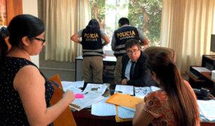 """Fiscalía allana oficinas de siete jueces por caso """"Cuellos Blancos del Puerto"""""""