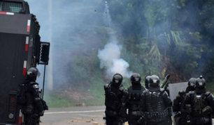 Colombia: protesta indígena deja un policía muerto y varios heridos