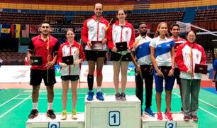 Bádminton peruano consigue nueve medallas en torneo internacional en Cuba