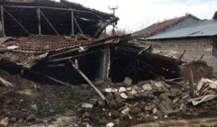 Fuerte sismo en Turquía dejó 3 heridos y múltiples daños