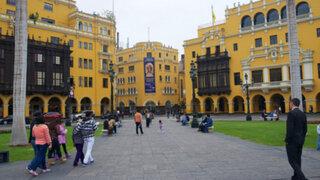 Restringirán acceso vehicular en calles aledañas a la Plaza de Armas
