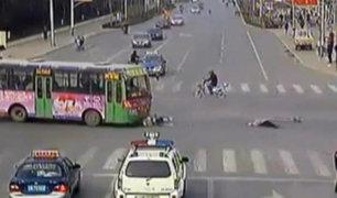 Cámaras registran imágenes impactantes de accidentes al volante