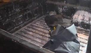 El Agustino: hallan cuerpo de mujer descuartizado y calcinado