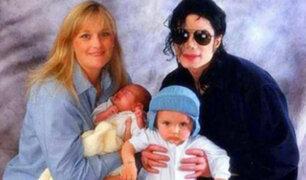 Ex esposa de Michael Jackson admitió que los hijos del cantante son de un donante de esperma