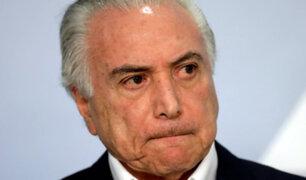 Brasil: expresidente Michel Temer fue detenido por caso Lava Jato