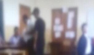 Ica: alumnos graban a dos compañeros burlándose de profesor