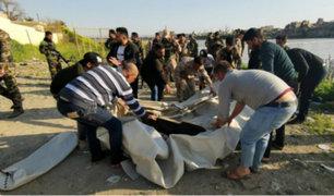 Irak: casi 100 muertos dejó naufragio de un ferry