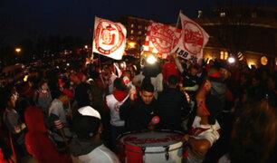 Perú vs. Paraguay: así fue el banderazo de los hinchas peruanos en Nueva Jersey