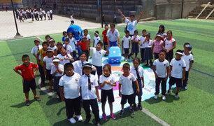 Día Mundial del Agua:  alumnos y profesores aprenden a cuidar el recurso hídrico