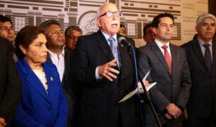 Fuerza Popular no presentará moción de censura en contra del ministro Zeballos