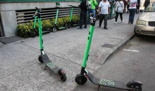 Miraflores: autoridades explican el porqué incautaron más de 100 scooters