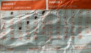 Detienen a banda que estafaba con el cuento del 'ticket de lotería'