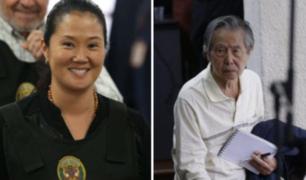 Keiko Fujimori fue trasladada a la Diroes para visitar a su padre