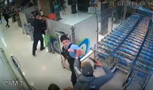 Chile: ladrón 'rescata' con una pistola a compañero retenido por guardias