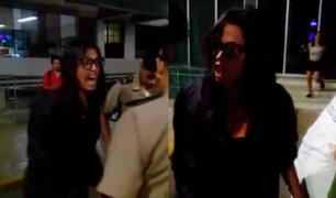 EXCLUSIVO: nueva denuncia contra la agresora de policías en La Punta