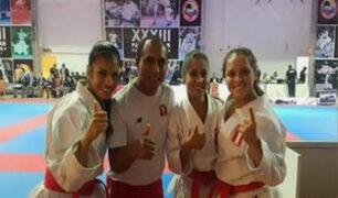 Delegación Peruana se baña en oro en Open de Karate en Panamá