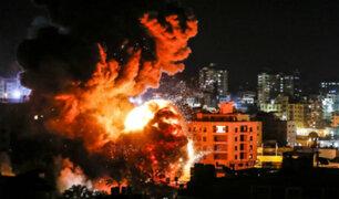 Israel: bombardean puntos estratégicos del grupo terrorista Hamás en Gaza