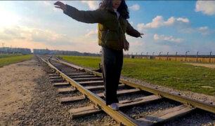 Polonia: piden no hacerse selfies en Museo de Auschwitz