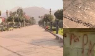 Rímac: histórica Alameda de los Descalzos está abandonada