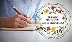 Ministerio de Cultura anuncia convocatoria para Premio Nacional de Literatura 2019