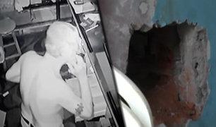 Tarapoto: ladrón recibe llamada en pleno robo a una bodega