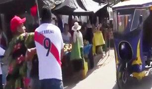 Trujillo: mototaxista extranjero protagoniza pelea callejera