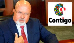 'Contigo' pide salida de Carlos Bruce del Gabinete