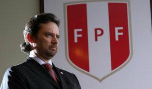 FPF resolvió contrato del secretario general Juan Matute