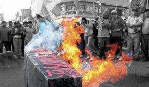 Arequipa: posiciones encontradas entre antimineros y alcalde de Mollendo