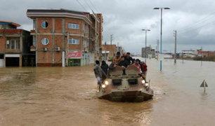 Fuertes lluvias en Irán deja 23 muertos y más de 100 heridos