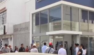Los Olivos: capturan a dos delincuentes que asaltaron banco