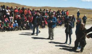 Las Bambas: anuncian paro indefinido en Apurímac en rechazo a la minera