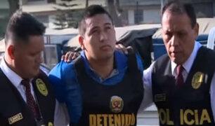 Delincuente que baleó a policía fue recapturado en Comas