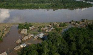 Senamhi advierte sobre el incremento del caudal del río Huallaga