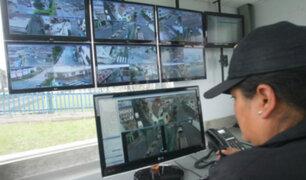MML: disponen sistema de interconexión de cámaras de vigilancia de distritos