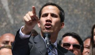 Guaidó presentó plan para salida de Maduro y convocó a marcha nacional