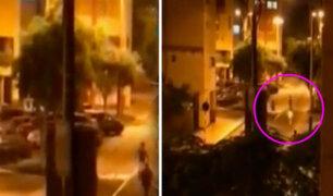 Pelea entre barristas genera pánico entre vecinos de San Borja